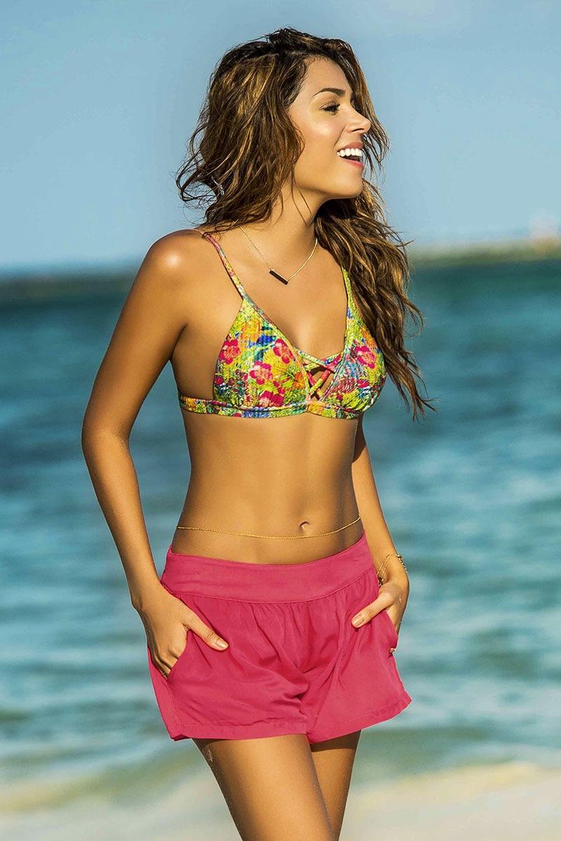 Damskie szorty plażowe Tropicana z kolekcji Phax