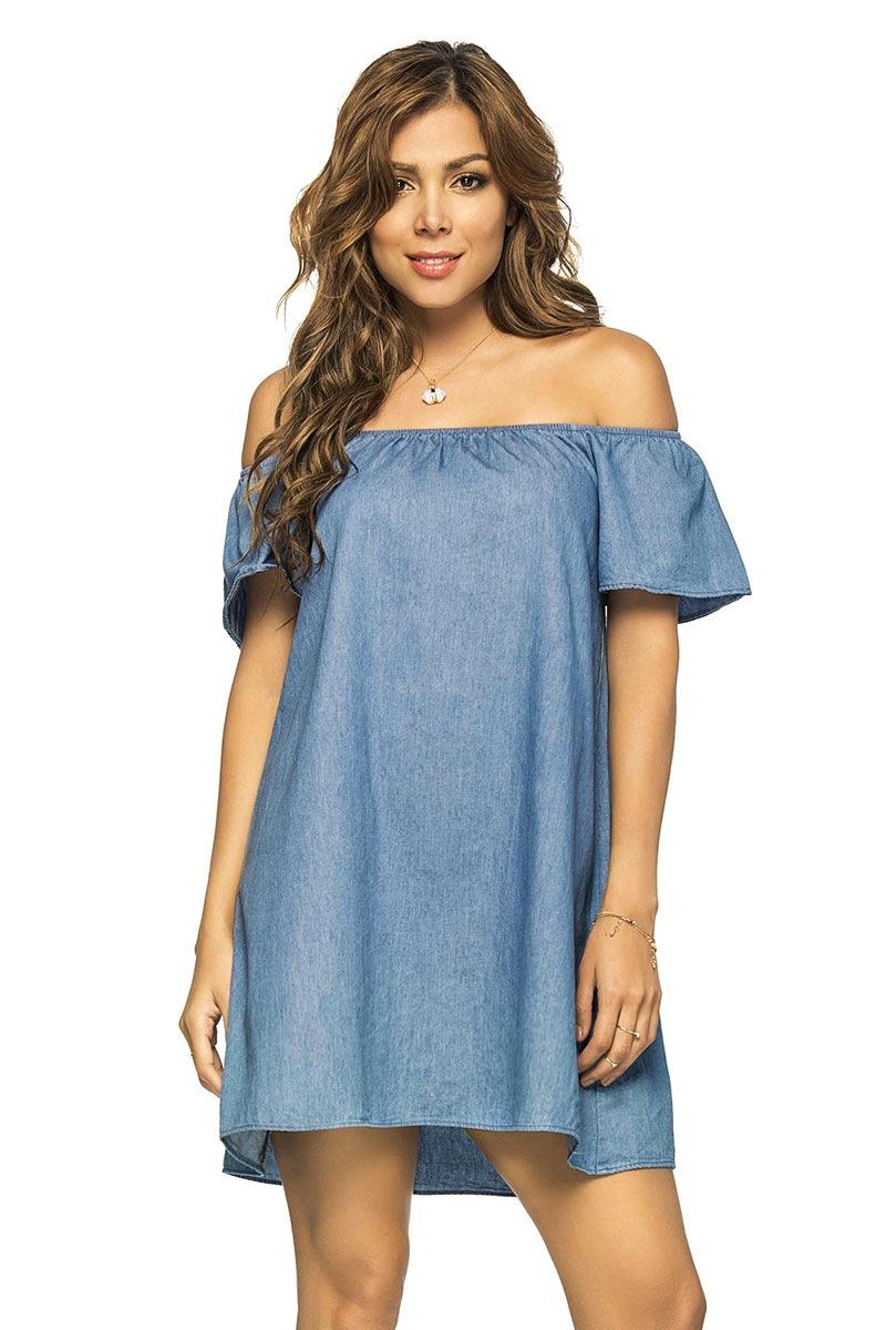 Letnia sukienka plażowa Jeans z kolekcji Phax